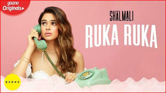 Ruka Ruka Lyrics - Shalmali Kholgade