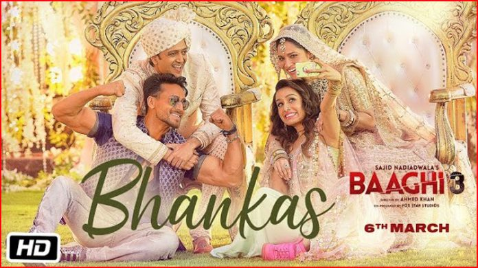 Bhankas Lyrics - Baaghi 3