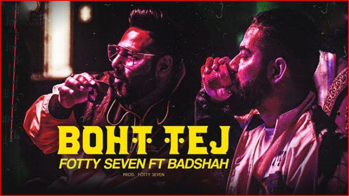 Boht Tej Lyrics - Badshah