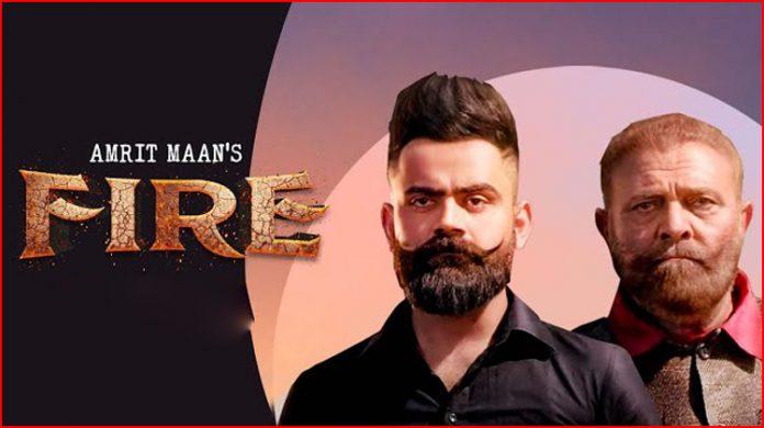 Fire Lyrics - Amrit Maan