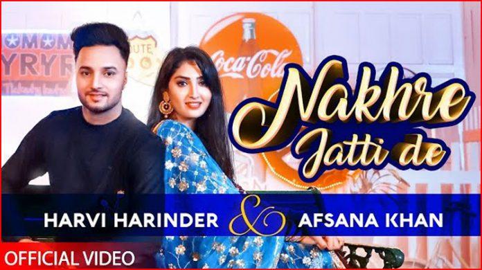 Nakhre Jatti De Lyrics - Harvi Harinder
