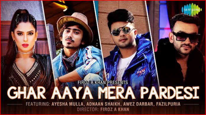 Ghar Aaya Mera Pardesi Lyrics - Fazilpuria