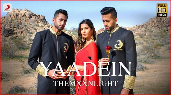 Yaadein Lyrics - THEMXXNLIGHT