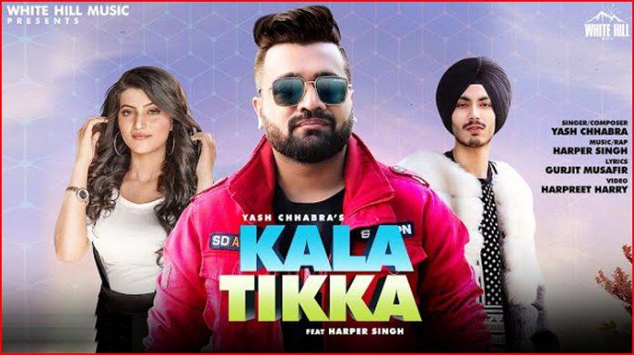 Kala Tikka Lyrics - Yash Chhabra