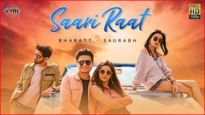 Saari Raat Lyrics - Bharatt Saurabh